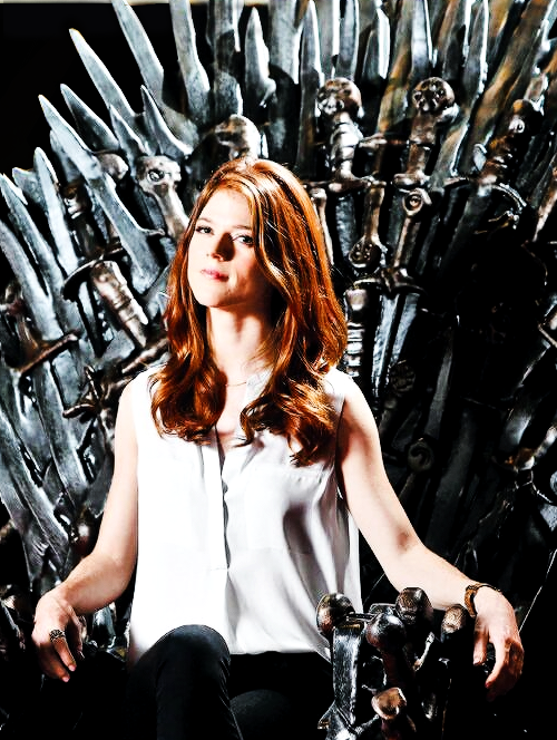 Rose Leslie-her character might be dead but she actually ...