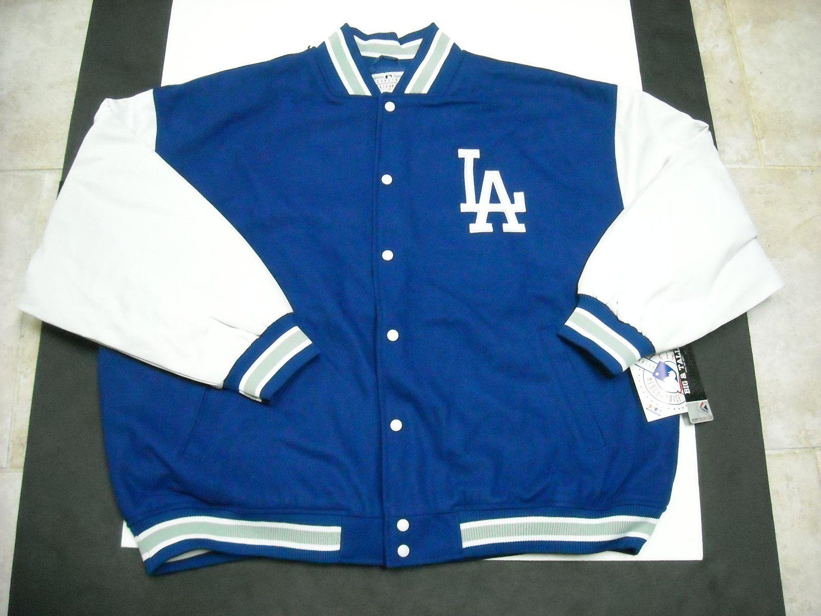 New Mlb Men S Los Angeles Dodgers Majestic Wool Varsity Jacket 3x 3xl Varsity Jacket Jackets Dodgers