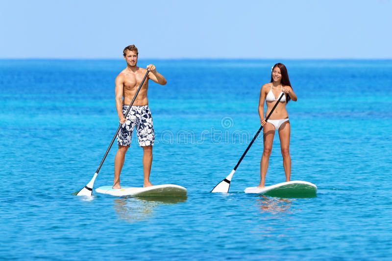 Stand Up Paddleboard Beach People On Paddle Board Stand Up Paddleboarding Beach Sponsored People Paddle Paddle Boarding Sup Accessories Standup Paddle