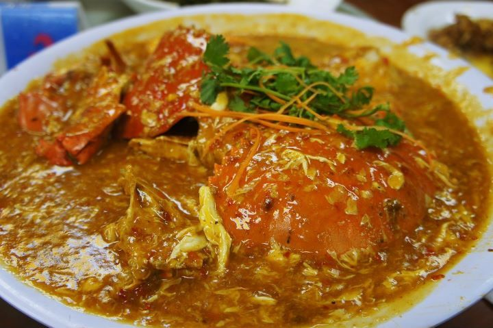 Chili crab at Chai Chee Seafood Restaurant. | Singapore food ...