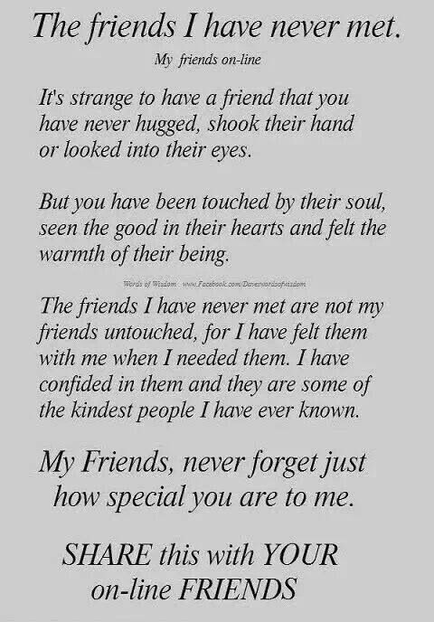 Internet Friends Quotes This is for you | Friendship | Friends, Interfriends, Online  Internet Friends Quotes