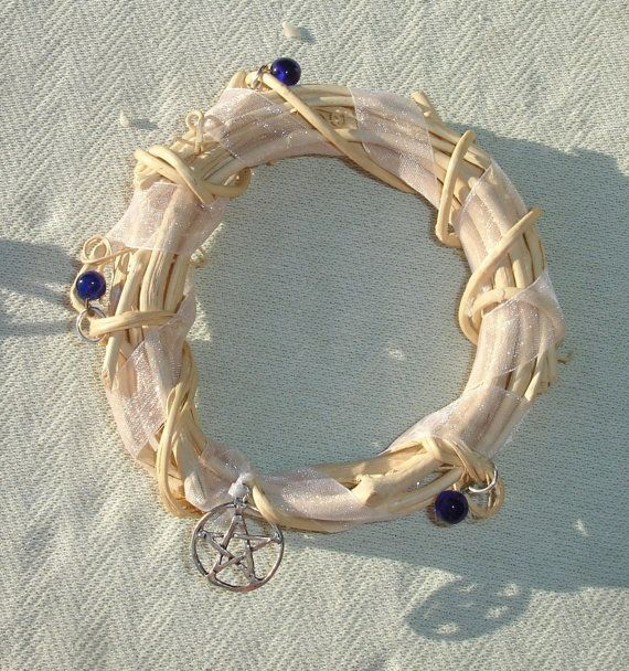 Pentagram Candle Ring Wreath - Wiccan & Pagan Supplies