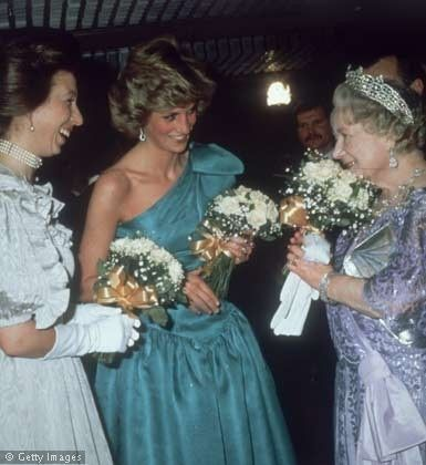 18 MARCH 1985 PRINCE CHARLES & PRINCESS DIANA ATTEND THE PREMIERE OF ...