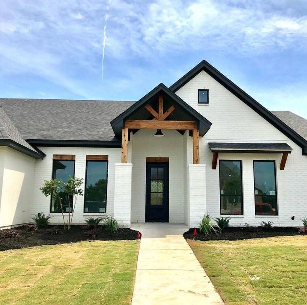 30 cheap farmhouse exterior design ideas modern