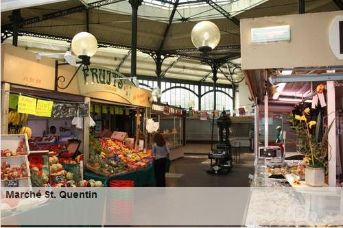 Marché Saint Quentin