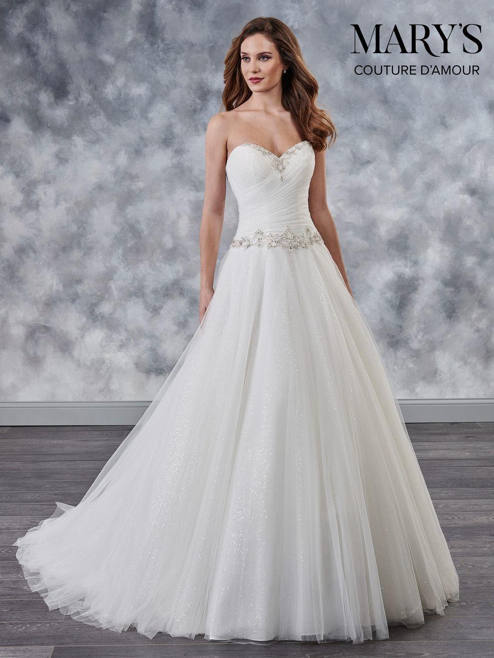 Marys Bridal Mb4028 Strapless Sweetheart Bridal Gown Sweetheart Wedding Dress Drop Waist Wedding Dress Wedding Dresses [ 1333 x 1000 Pixel ]
