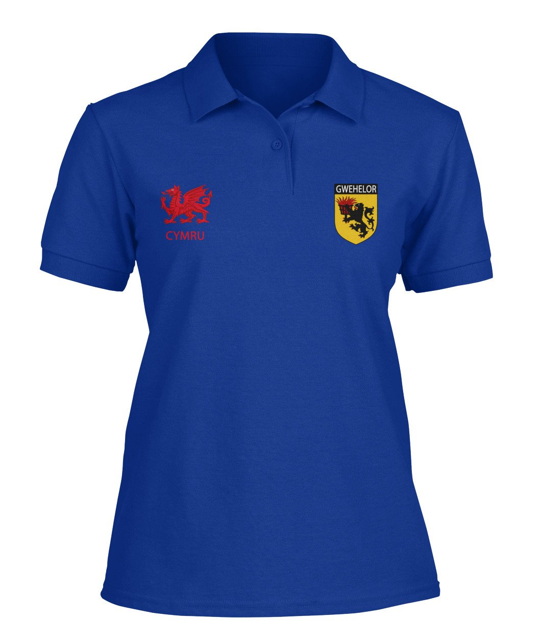 Wales Polo Shirt Gwehelor Lord Of Llantrisaint Monmouthshire