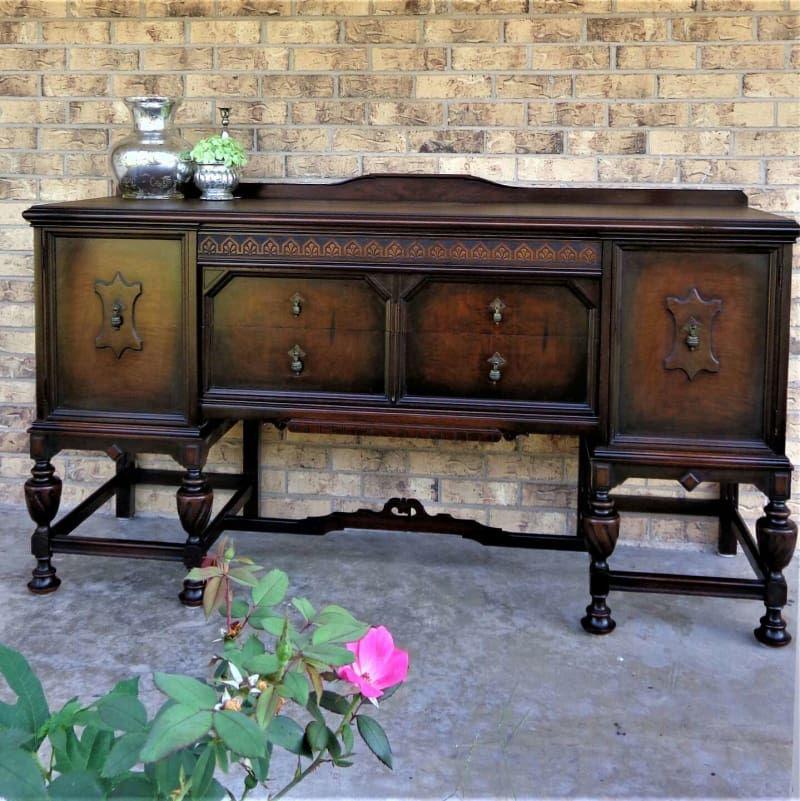 This Rockford Superior Furniture Co Buffet Restored Circa