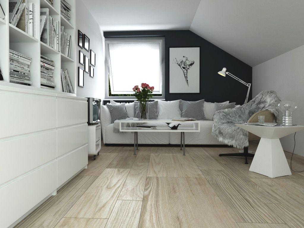 Imagen de pisos y azulejos de Salas de Estar  Interior