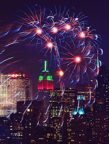Happy New Year In New York City