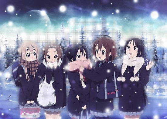 Characters Yui Azusa Ritsu Mugi Mio Anime K On Millions Of Unique Designs By Independent Artists Find Your Thing In 2020 Anime Free Anime Poster