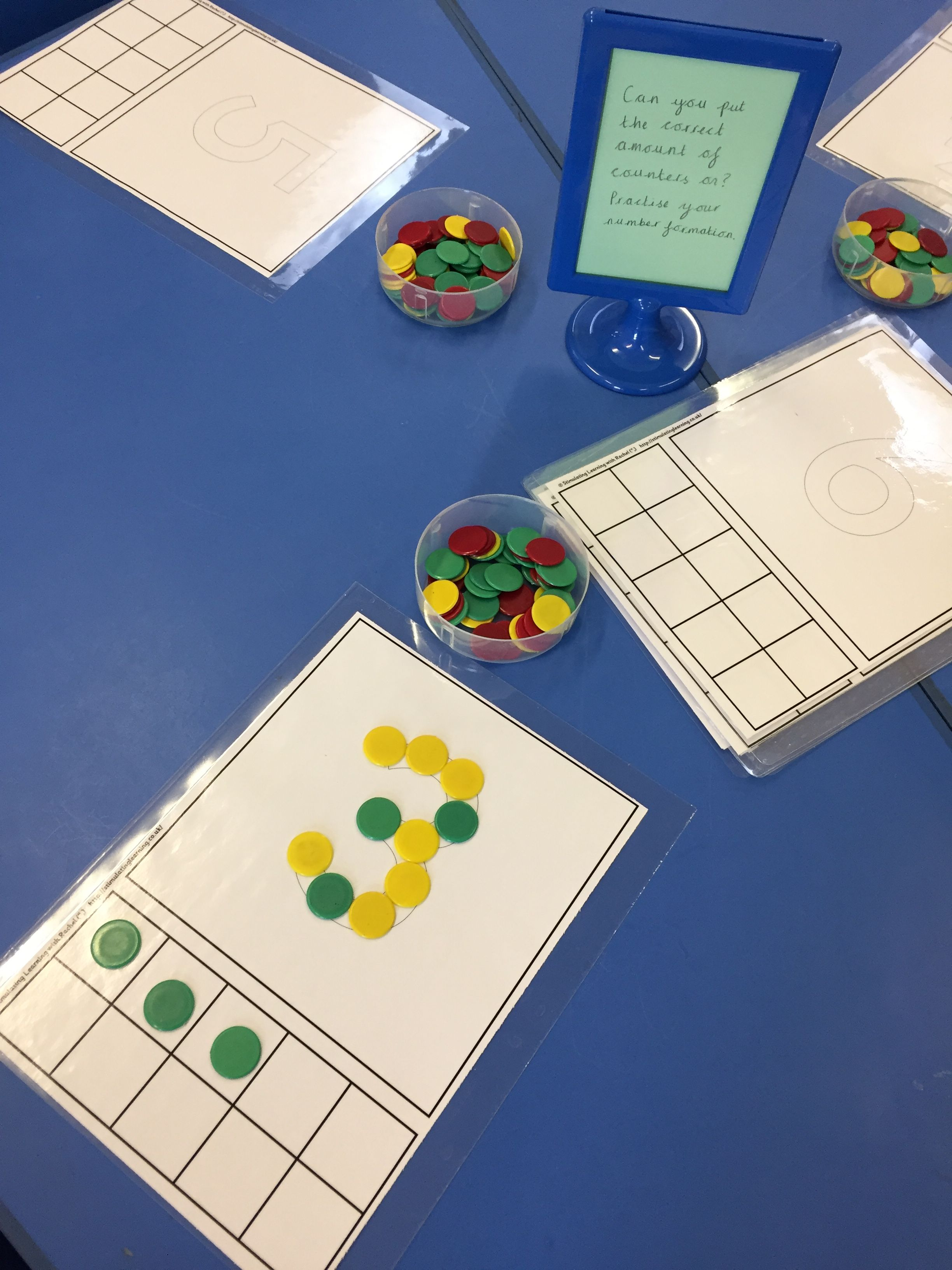 Number Formation Recognition And Matching Quantity To