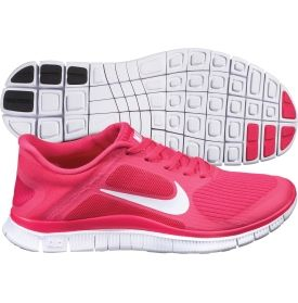 Nike Women's Free Run 4 v3 Running Shoe - Pink/White | DICK'S Sporting Goods