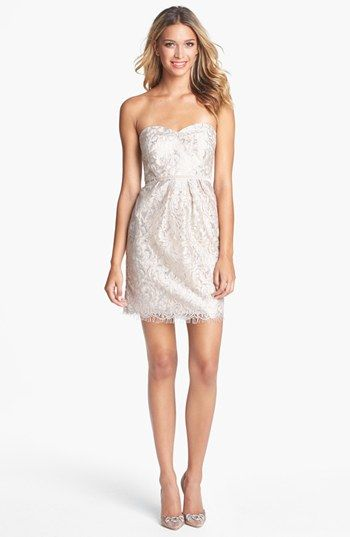Nordstrom Sheath Wedding Dress