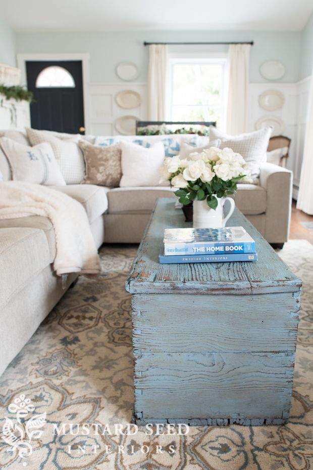 Decorating Dilemma | Marie - Helene\'s Great Room - Miss Mustard Seed ...