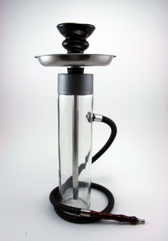 The Smoking Tower Hookah, shisha, glass bottle, ceramic