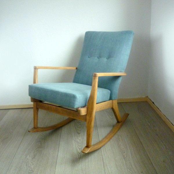 Groovy Vintage Parker Knoll Pk 973 4 Rocking Chair Rocking Chair Machost Co Dining Chair Design Ideas Machostcouk