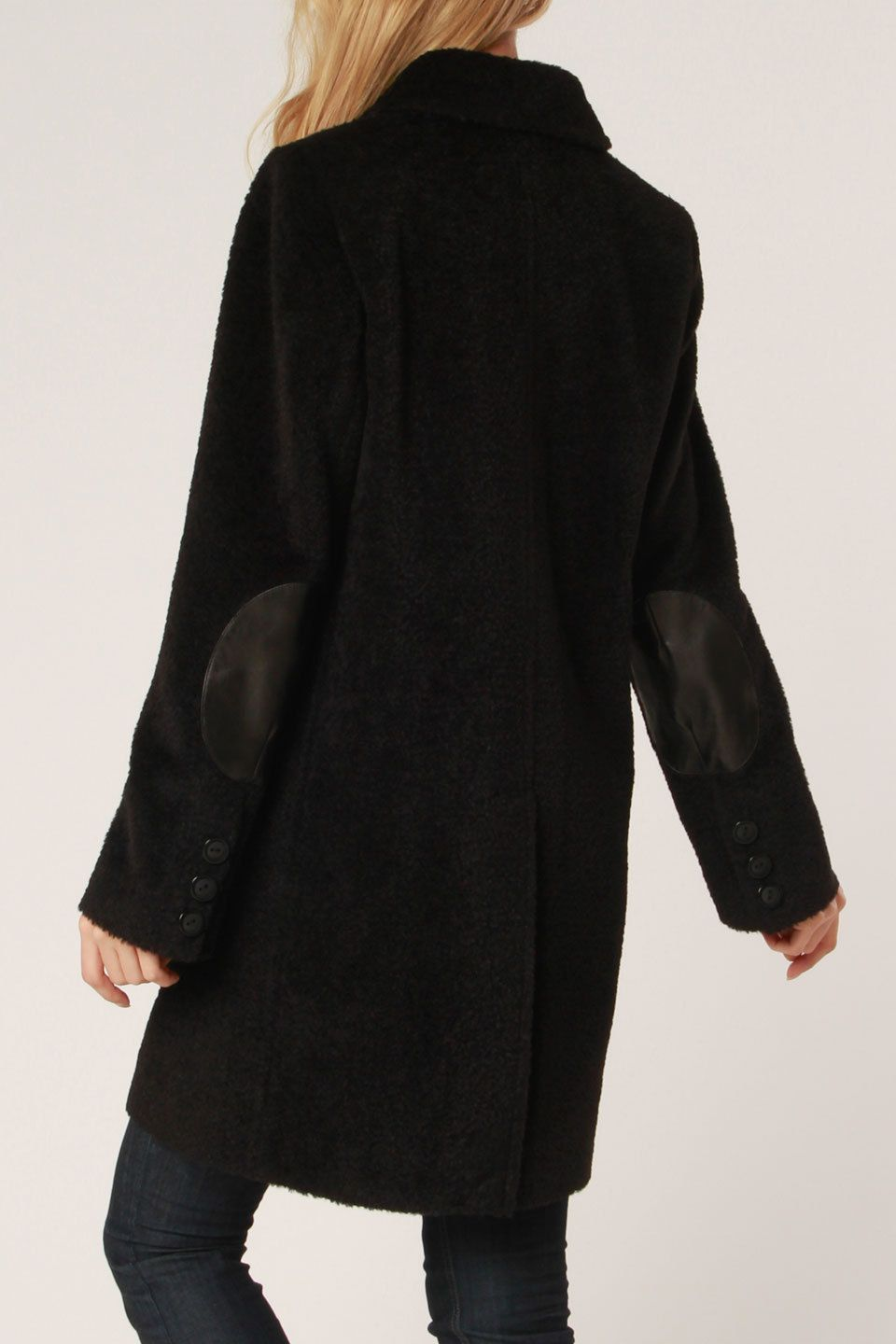 23a98649601 I love elbow patches on coats. Diva by Dale Dressin Emily Jacket ...