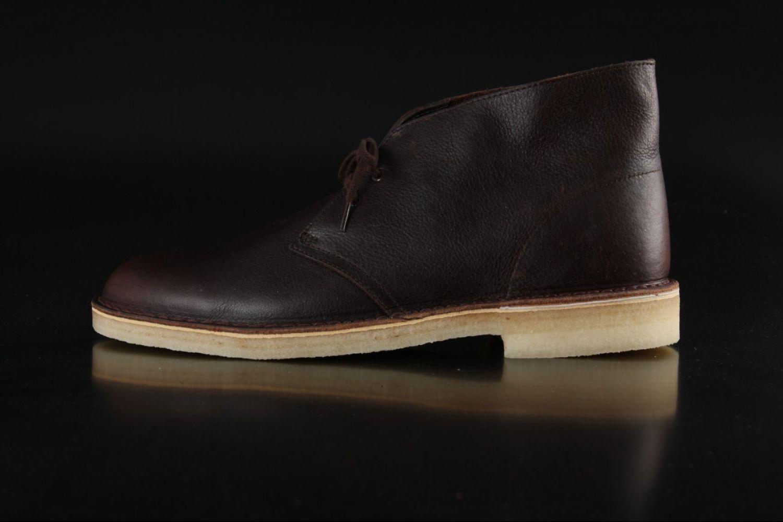 Clarks Originals - Clarks Originals Desert Boot Brown Tumbled Leather  26104990 - Fahrenheitstore