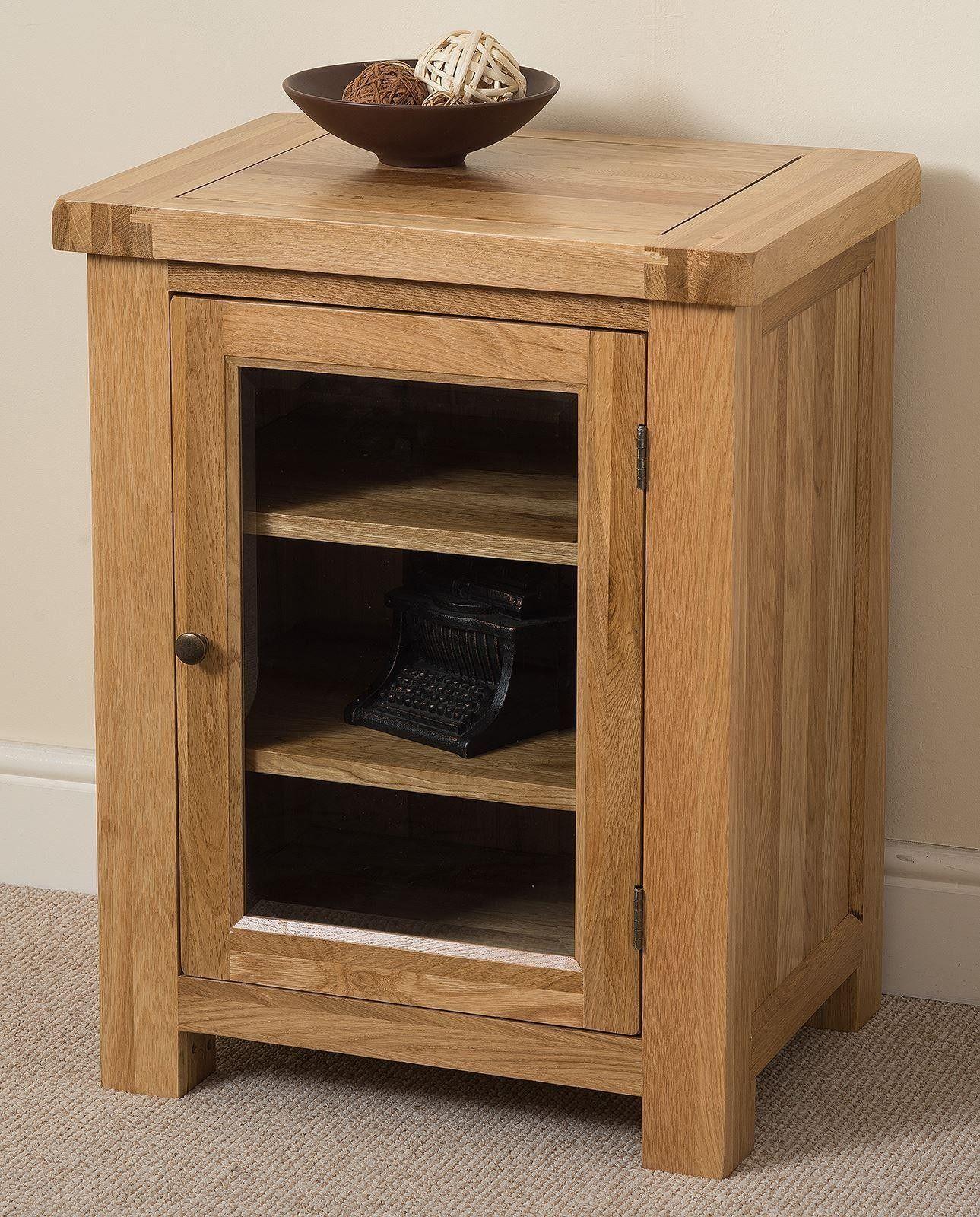 Cottage Light Solid Oak HI-FI and Media Storage Cabinet This Hi Fi cabinet is & Cottage Light Solid Oak HI-FI and Media Storage Cabinet This Hi Fi ...