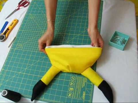 9d09d3a9e How to Craft a Pokemon Pikachu beanie hat for Cosplay | Presents ...