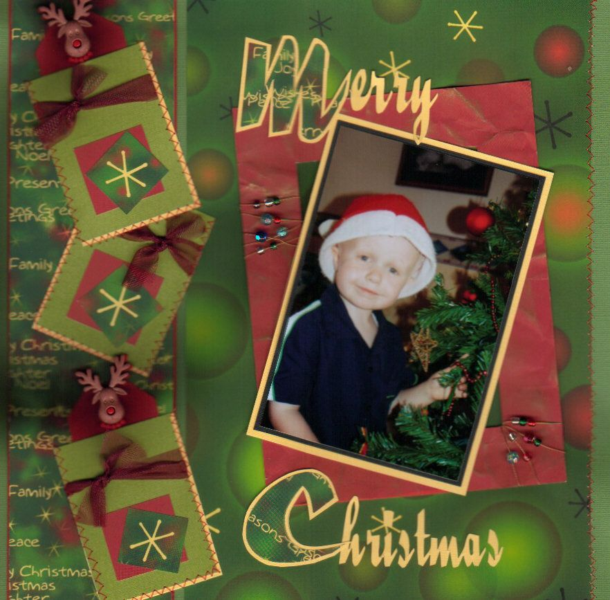 Pinterest Christmas Scrapbook Pages This Blogthis Share To