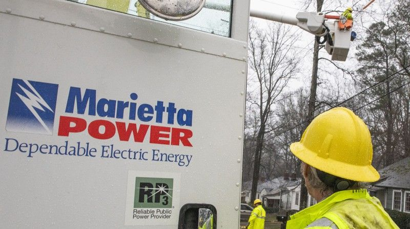 Marietta Power, Water will resume service disconnections