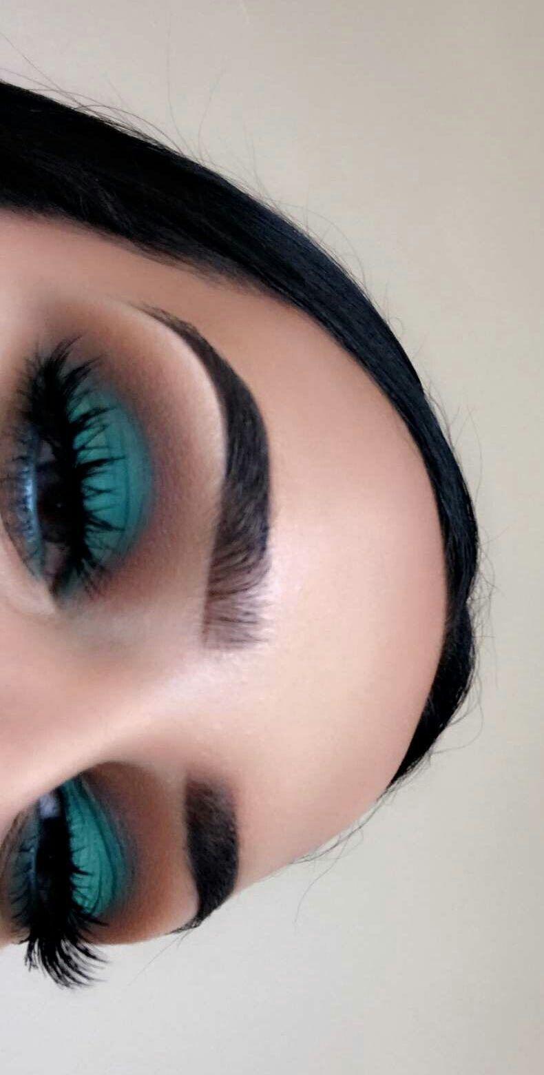 pinterest|@lauraspinsxoxo ✨ | peacock eye makeup, dramatic