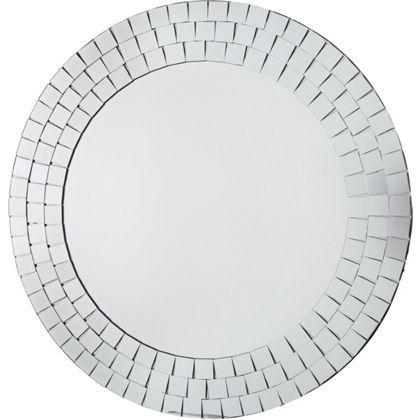 Mosaic Round Wall Mirror Homebase £22.99
