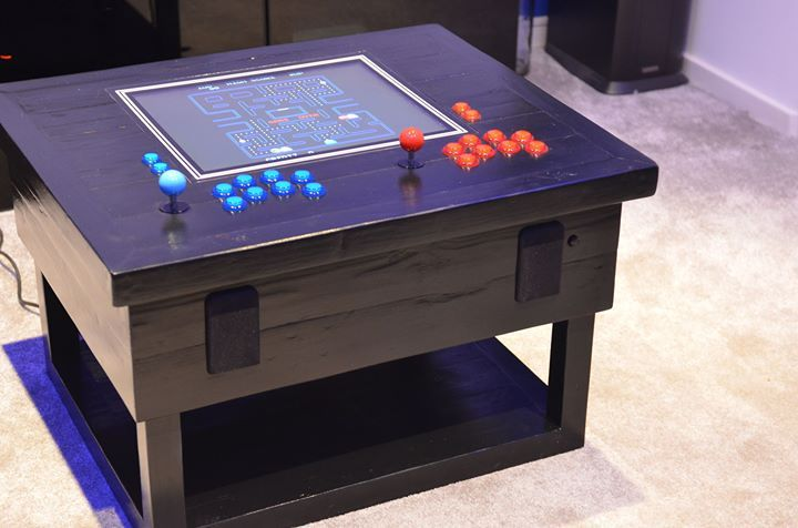 I built an Arcade Coffee Table out of scrap wood Check out the full project http://ift.tt/2eBnvuq Don't Forget to Like Comment and Share! - http://ift.tt/1HQJd81