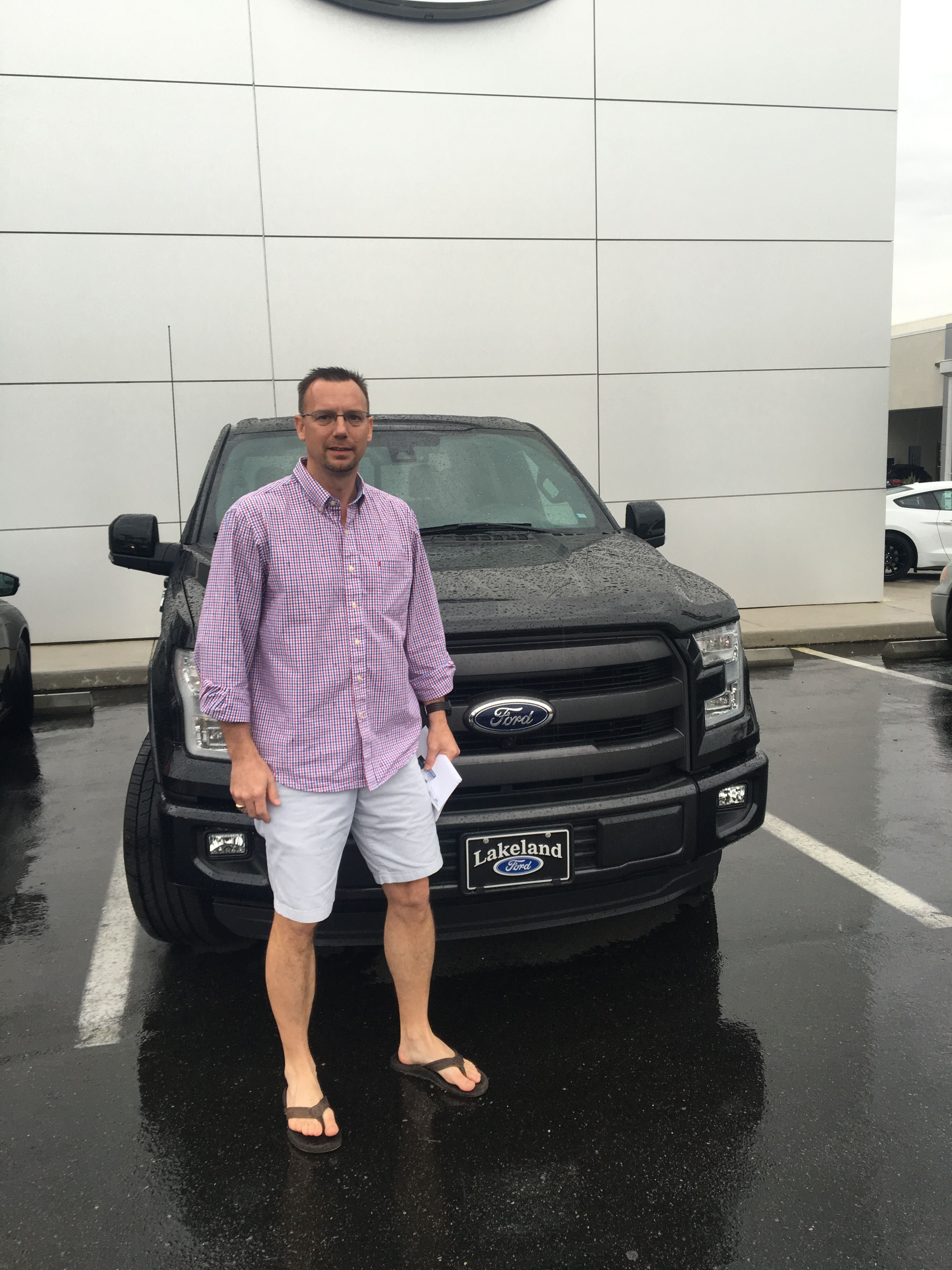 Michael Sherrod heard about Lakeland Automall online and decided to