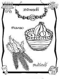 Kwanzaa Symbols Coloring Pages Google Search Happy Kwanzaa Kwanzaa Coloring Pages