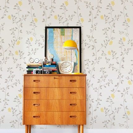 Branch Flower Wallpaper Peel And Stick Fabric Wallpaper Flower Lights Flower Branch
