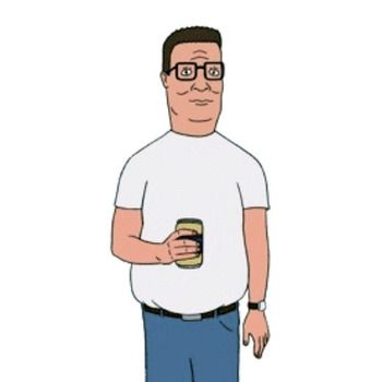 Hank Hill King Of The Hill Character Modeling Comedy Cartoon