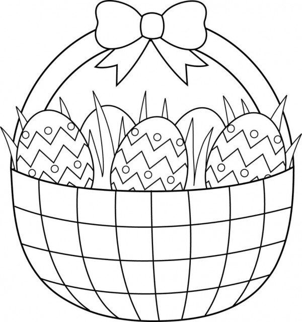 Easter Coloring Pages, Free Easter Coloring Pages for Kids | 639x600