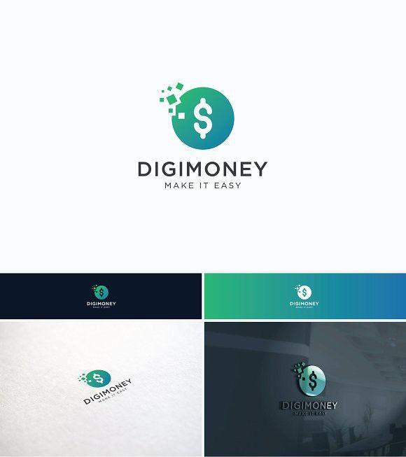 Digital Money Logo | Desconto