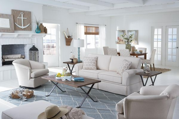 beach cottage living room ideas 14 Pics On Room ideas