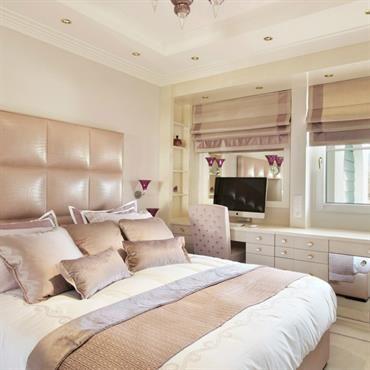 Chambre moderne couleurs beige et ivoire   deco maison   Pinterest