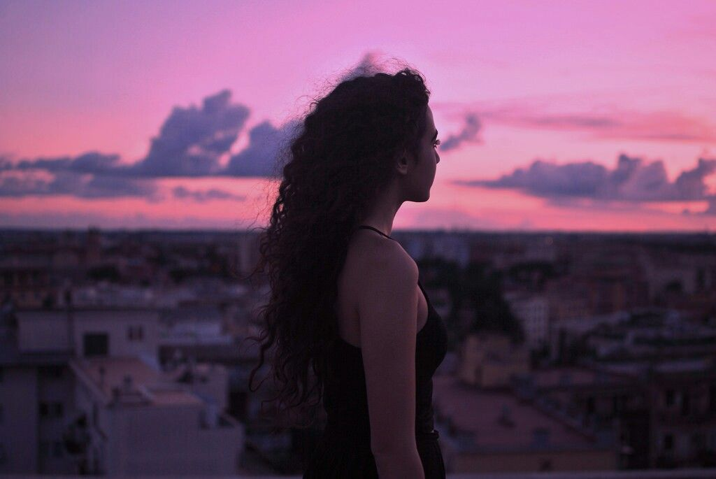 Sunset On The Rooftop By Fed J