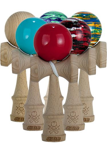 Sweets Kendama Toys Marble Art Sweets