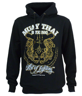 ba264e5604f8f Sak Yant Hoodie Twin Tiger Great Muay Thai Fighter Sak Yant Hooded Jogging  Sweat Shirt Only $42.99 Available from our store. Sizes M & L,