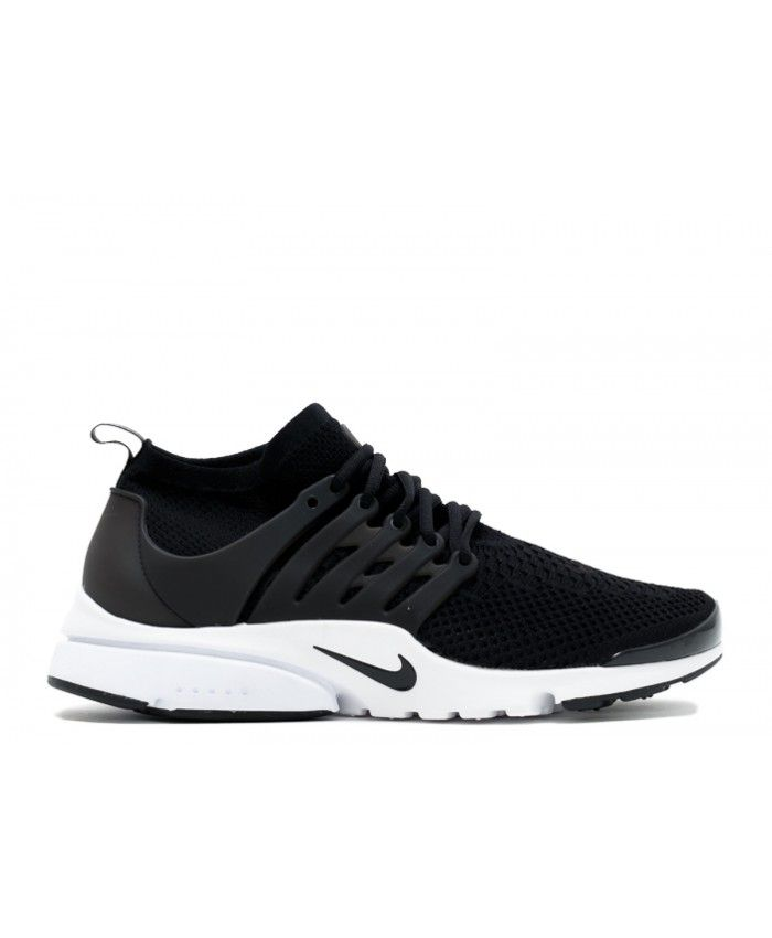 new arrival 1dded ed60b Air Presto Flyknit Ultra Black, Black-White-Electric Green 835570-001