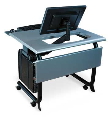 monitor arm computer table control consoles and accessories