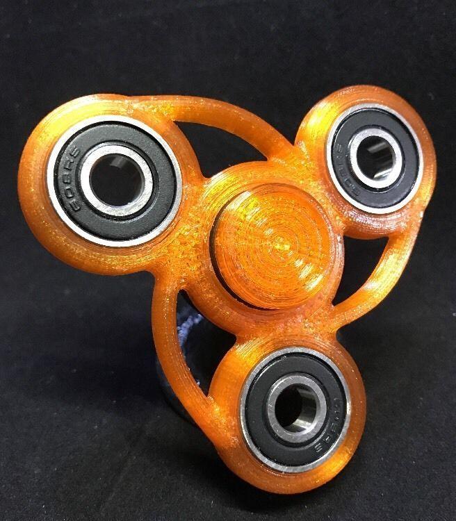 edc fidget spinner hand spinner hybrid ceramic bearing transparent orange v1 1 ceramics edc. Black Bedroom Furniture Sets. Home Design Ideas