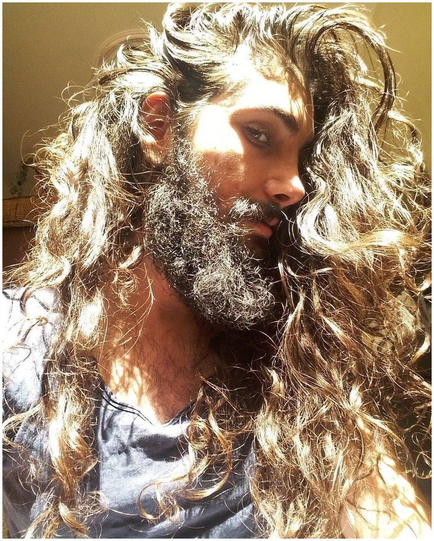 Mens long haircut longhaircut guyshair guyshairstyles long curly hair for men  long