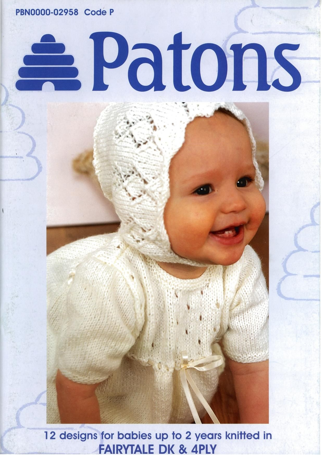 Patons 2958 Fairytale Baby Book | Baby knits | Pinterest