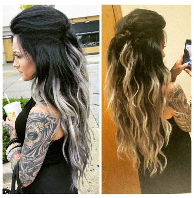 Pin By Modestly On Hair Pinterest Gray Hair Early Grey And Gray