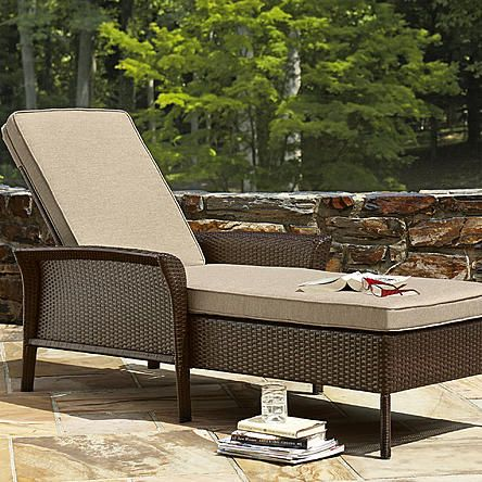 Ty Pennington Style Parkside Chaise Lounge Limited Availability With Images Ty Pennington Patio Furniture