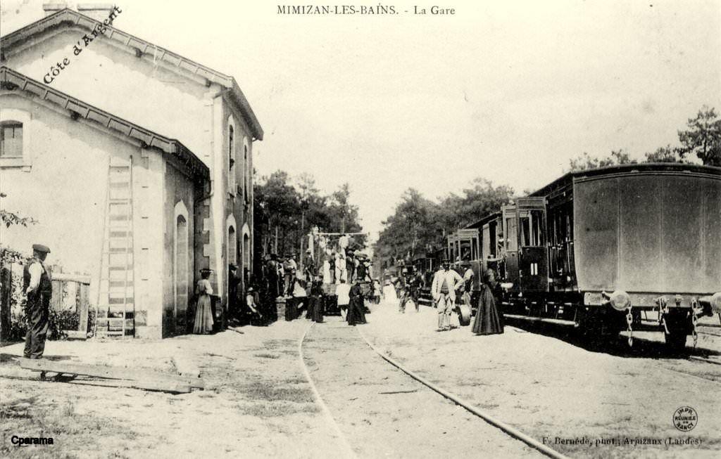 Mimizan La Gare Nouvelle Aquitaine 1 En Photos Et Cartes