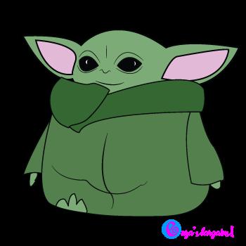 Download Baby Yoda SVG for Cricut | Yoda png, Cricut, Star wars art